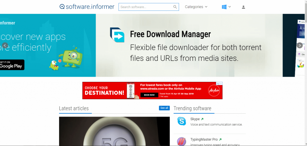 software informer download software sites