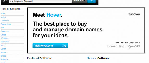 tucows popular software sites online to download