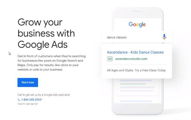 grow you google ads