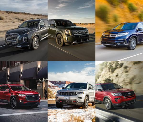 7 Most Reliable Midsize SUVs for 2020