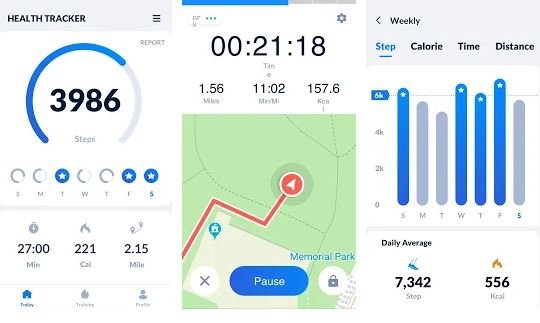 Step Tracker – Pedometer Free and Calorie Tracker