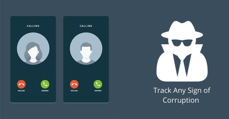 Track Any Sign of Corruption with Secret Call Recorder